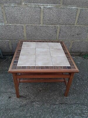 Retro Holland Made Tiled Coffee Table