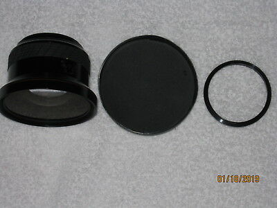 Expensive Sigma Wide Converter X O.6 Lens For Video & Camera Lot A2