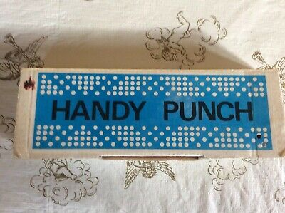 Vintage Japan Handy Punch For Knitting Machine Cards