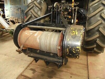tractor mounted winch