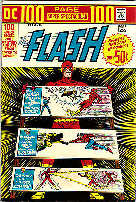 DC 100 Page Super Spectacular #22 THE FLASH  Large RARE NM 9.4. MOVIE soon! 1973