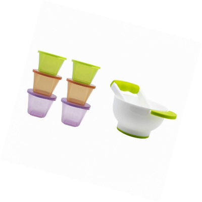 Annabel Karmel by NUK Stackable Storage Containers , Microwave & Freezer Safe, 6