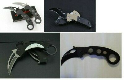 Tactical Folding Knife Karambit Claw G10 Handles EDC Tools Tactical BRAND NEW