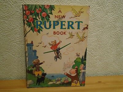 "1945 ""The New Rupert Book"" in Very Good Condition"