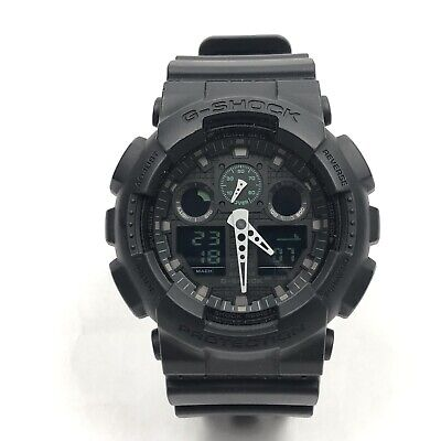Mens Casio G-Shock Protection All Black Watch