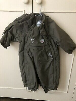 Infant Snow Suit (12 M  Size 76) Khaki. Reima. Used Once. Bought For 85Euro