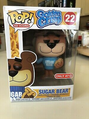 Funko Pop Target Exclusive Sugar Bear New With Pop Protector Ad Icon Funko!