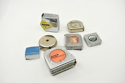 Small Lot of 7 Vintage Tape Measures