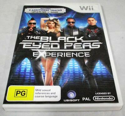 The Black Eyed Peas Experience Nintendo Wii PAL *Complete* Wii U Compatible