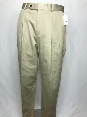 3203 NWT BROOKS BROTHERS Mens 33W 30L 100% Cotton Suit Pants Trousers $118.50