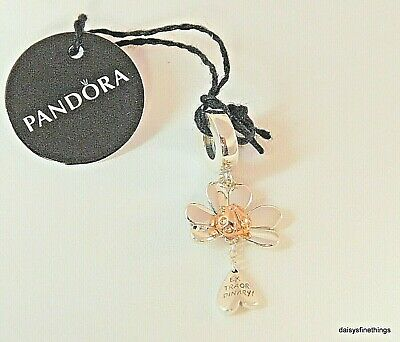 New/tags Authentic Pandora Charm Rose™ Clover And Ladybird Dangle #787877