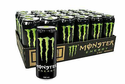 NEW Monster Power Energy Cans Drink 24 x 500mL