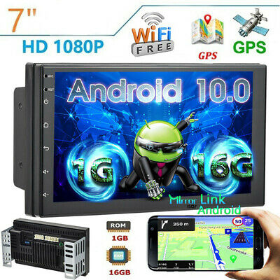 """7"""" 2Din Android8.1 Car Stereo MP5 Player FM Radio GPS WiFi BT Head Unit +Camera"""
