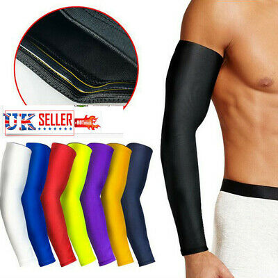 new concept 22ad6 12d56 Arm Compression Support Elbow Sleeve Basketball Sports Elasticated Arm  Protector