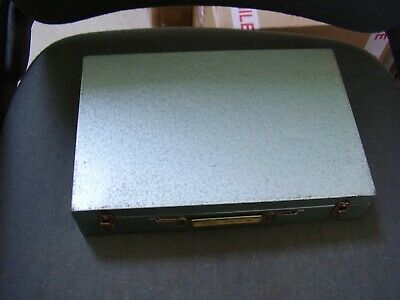 Vintage ROWI METAL 35mm Slide Box Case  -  ROWI 485  - B