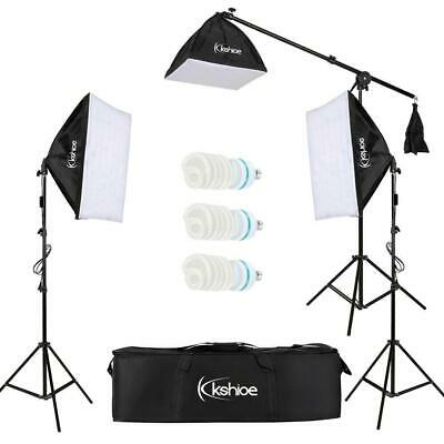 Photography Studio Light Continuous Lighting Lamp Softbox Tripod Stand Kit