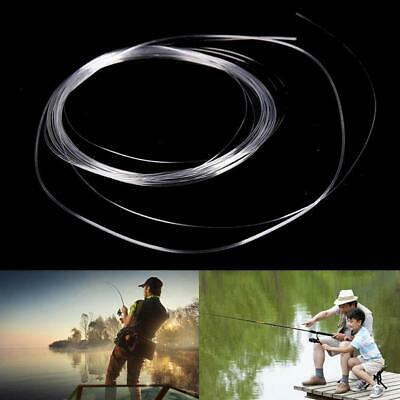 1pc Fly Fishing Fluorocarbon Tapered Leader 9FT 0/1/2/3/4/5/6/7X Leader Li P4Y1