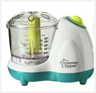 Tommee Tippee Baby Food Blender + MAINS ADAPTER , FAST DISPATCH AND DELIVERY