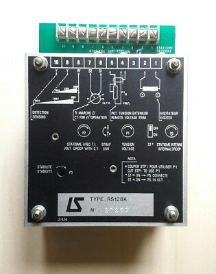 Leroy Somer Rs128A-1 Automatic Voltage Regulator