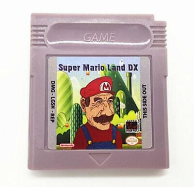 16 Bit Video Game Cartridge Console Card Super Mario Land DX
