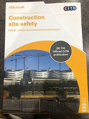 CITB Construction Site Safety:  SMSTS GE700 2018 Edition NEW