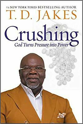 Crushing: God Turns Pressure into Power Hardcover 2019 new