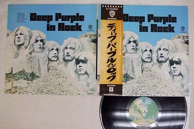 DEEP PURPLE IN ROCK WARNER P-10108W Japan OBI VINYL LP