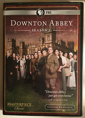 New Downton Abbey Season 2 Dvd Pbs Masterpiece Tv Original Uk Edition