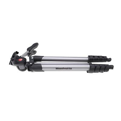 Manfrotto 5-Section Compact Advanced Aluminum Tripod with 3-Way Pan Head 1120988