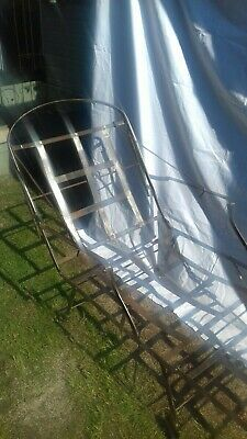 Antique French Steel Folding Day Bed
