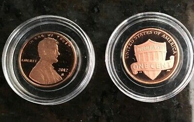 2012 S Lincoln Memorial *Proof* Cent / Penny  **Free Shipping**