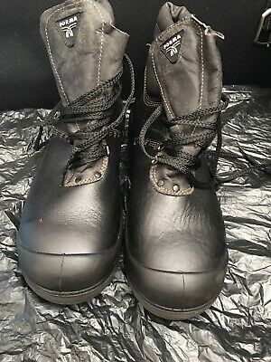 FORMA LEATHER BOOTS Rubber Sole Lace Up Size EU47, UK 12, Made In Germany