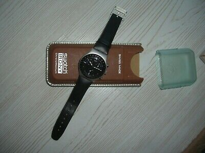 Swatch  IRONY ALUMINIUM SWISS MADE Armbanduhr Uhr HAU