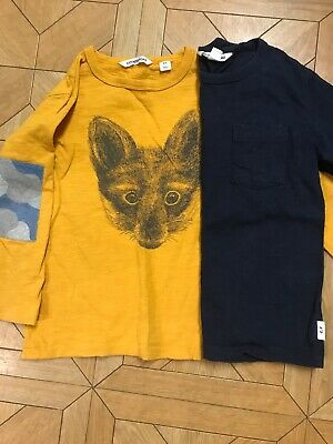 Country Road 2x Boys Long Sleeve Tees Size 4