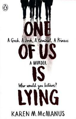 One of Us Is Lying by Karen M McManus (author)