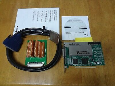 National Instruments PCI-6280 NI DAQ Card, 18-bit Analog Input, Multifunction