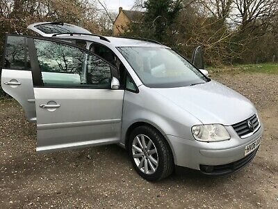 2006 VW Touran 2.0 TDi 7-Seater  DSG in Metallic Silver