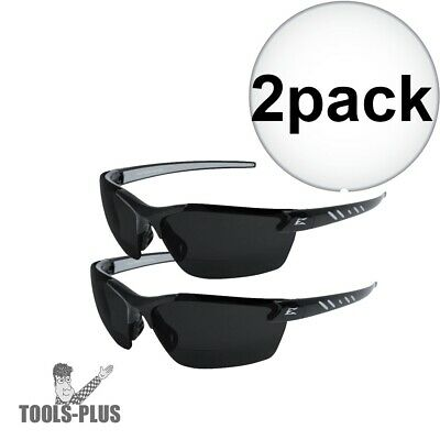 f9345e6e5bc EDGE ZORGE BLACK Frame Non-Polarized Smoke Lens Safety Glasses DZ116 ...