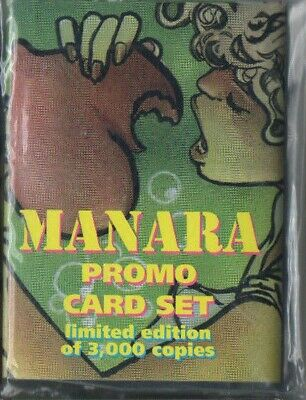 Art Of Milo Manara Limited Edition Factory Sealed 6 Promo Card Set #1920