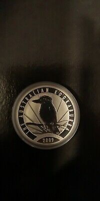 2009 Australian Kookaburra 1 oz silver bullion coin .999 troy. Perth mint