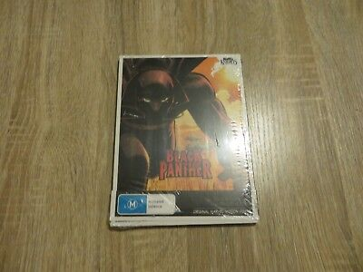 Black Panther - Marvel Knights - Motion Comic - Region 4 DVD - Brand New