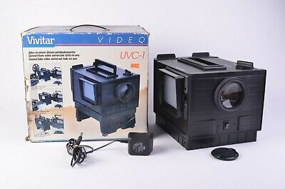 Mint- Boxed Vivitar Uvc-1 Universal Video Converter Slides/Pics/Movies To Video