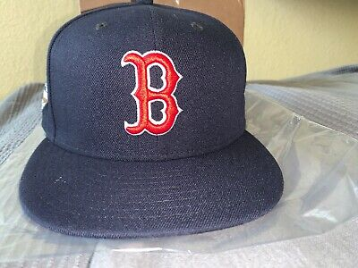 5208760ac3784 NWOT Era Boston Red Sox 2018 MLB World Series Fitted Hat Patch 59FIFTY Cap