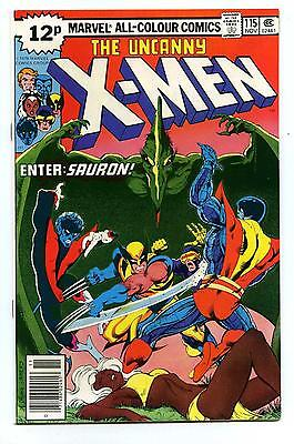 Uncanny X-Men #115 - Pence Issue - Marvel 1978 NM-