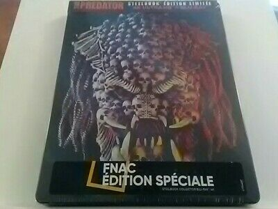 The Predator 2018 Steelbook Edition Spéciale Fnac Blu-ray 4K Ultra HD