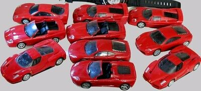 10 x Ferrari | Model | 1:38 big | F360 | F40 | F430 | F50 | Superamericana | T94