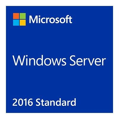 Windows Server 2016 Standard Edition OEM Retail  License Key - 64 Bit