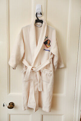 Vintage 90s Girls Age 4-5 Years Dressing Gown pocahontas Marks & Spencer VGC
