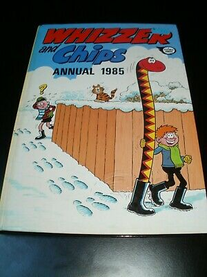 WHIZZER AND CHIPS     ANNUAL 1985 - Very good condition.