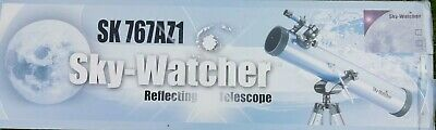 Reflecting telescope 76mm focal length 700mm. Complete kit